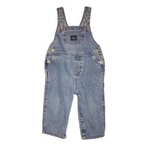 Carters Jean Overalls - Snap Closures - 18 months